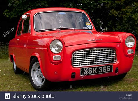 renovated cers renovated classic car 1959 ford anglia 100e stock photo