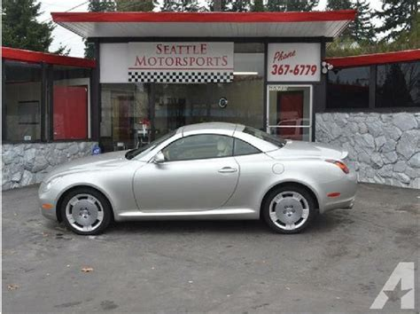 books about how cars work 2002 lexus sc lane departure warning 2002 lexus sc sc 430 convertible 2d for sale in shoreline washington classified