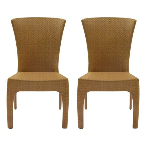 Small Side Chair St Tropez Woven Side Chairs Kdrshowrooms