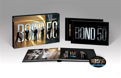 film blu ray the official james bond 007 website bond 50 on blu ray