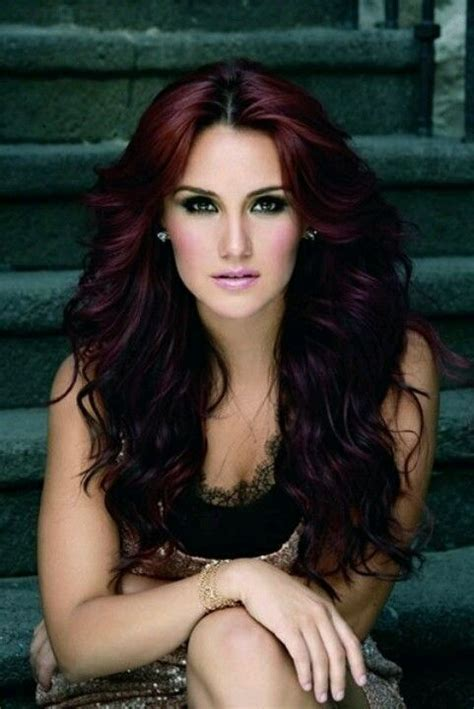 pretty hairstyles and colors burgundy hair color for red hair brunettes and blondes