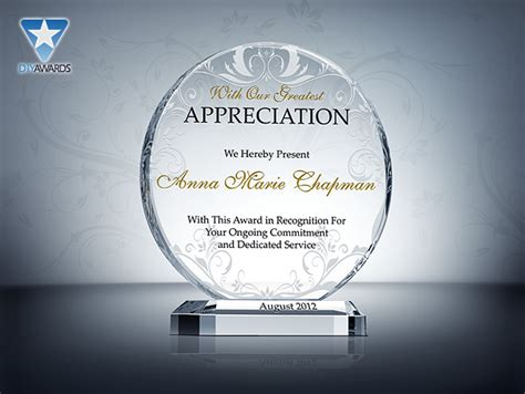plaque of appreciation template appreciation plaque wording quotes