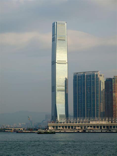 where center international commerce centre the skyscraper center