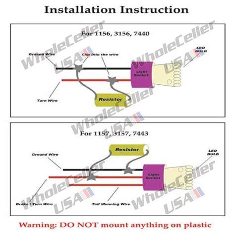 do resistors wear out set 4 50w 6ohm load resistor fix led flash turn signal light blink no error code ebay