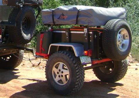 jeep trailer build mini harbor freight type trailer ultimate build up