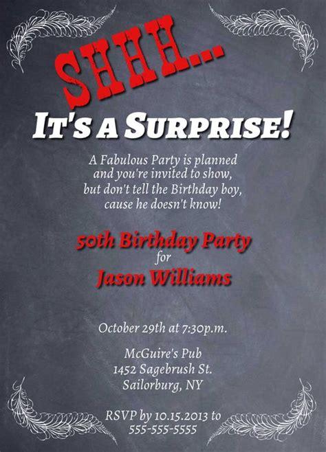 printable birthday invitations adults printable adult birthday party invitation chalkboard