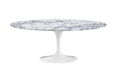 tavolo knoll saarinen ovale saarinen tavolo ovale in marmo knoll milia shop