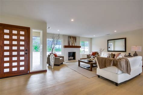 california bungalow living room contemporary with modern californian ranch style bungalow house with modern flair
