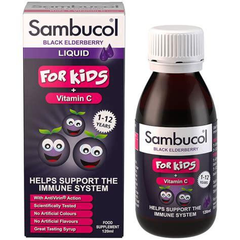 Sambucol For by Sambucol Formula Flavour Free 120ml Free