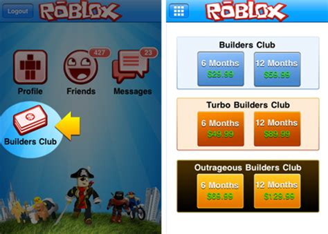 Roblox Builders Club Gift Card - builders club available in itunes roblox blog