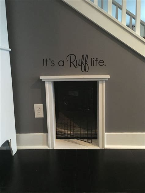 i had wasted space in that weird under stairs closet so 25 best ideas about in the dog house on pinterest large