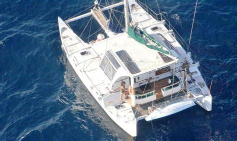 wharram catamaran australia 1999 wharram pahi captain cook sail boat for sale www