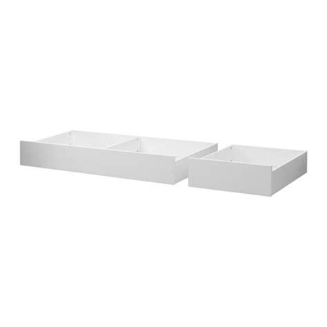 Underbed Box Storage 1 hemnes underbed storage box set of 2 white king