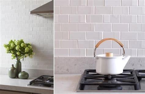 5 favorites textural white tile backsplashes glazed