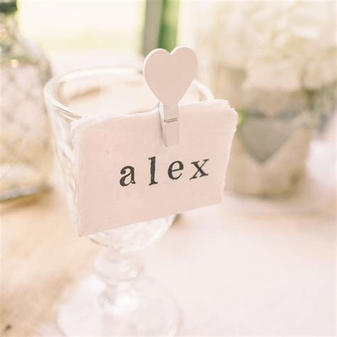 Place Card Holders Wedding – place card holders   The Wedding of My DreamsThe Wedding