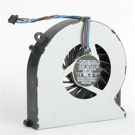 Fan Laptop Hp Probook hp probook 4530s cpu processor cooling fan black