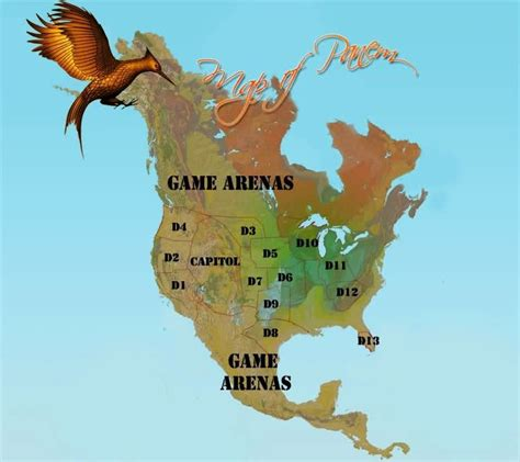hunger games map themes another panem map may the odds be ever in your favor