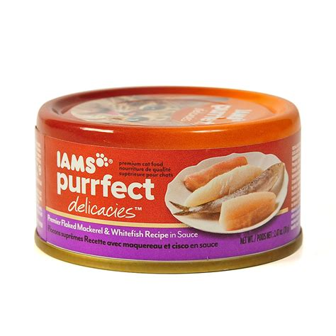 iams canned food iams purrfect delicacies flaked canned cat food petsolutions
