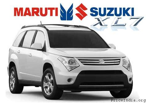 Maruti Suzuki Suv Model Maruti Suzuki Xl7 Car Inspiron