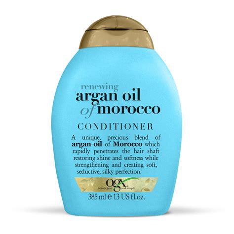 Ogx Argan Conditioner 385ml ogx 174 renewing moroccan argan conditioner 385ml