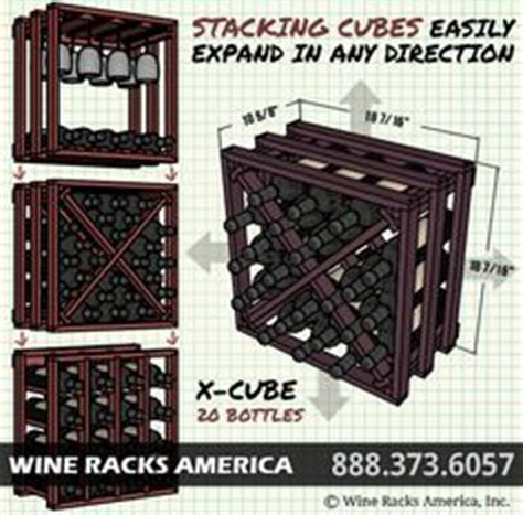X Wine Rack Plans by How To Build A Lattice Wine Rack In A Cabinet Woodworking Projects Plans