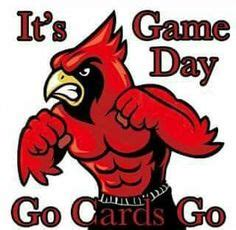 mascot clipart image   fighting cardinal graphic
