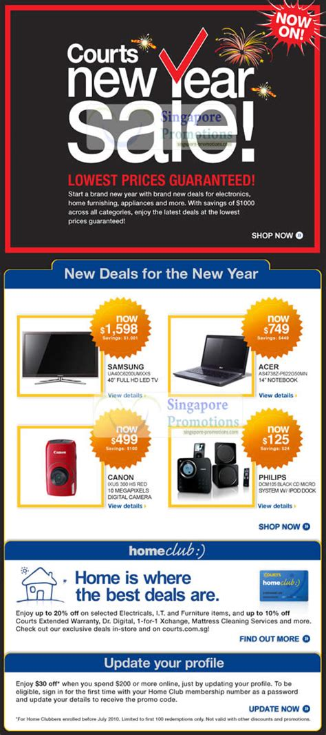 courts new year sale courts new year sale january 2011 187 courts new year sale