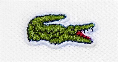 Lacoste Crocodile lacoste replace their iconic crocodile logo with