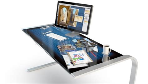 Touchscreen Desk Is Your Ultimate Interactive Office Solution