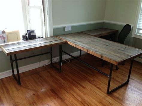 black iron pipe desk black iron pipe desk search wood and pipe desk