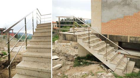 barandilla escalera exterior barandillas escaleras inox 183 proyectos 183 aainox