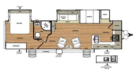 Salem Travel Trailer Floor Plans by New 2016 Forest River Salem Hemisphere 302fk 78683