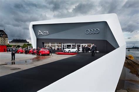 audi showroom audi a3 dealer meeting kopenhagen 2012 schmidhuber