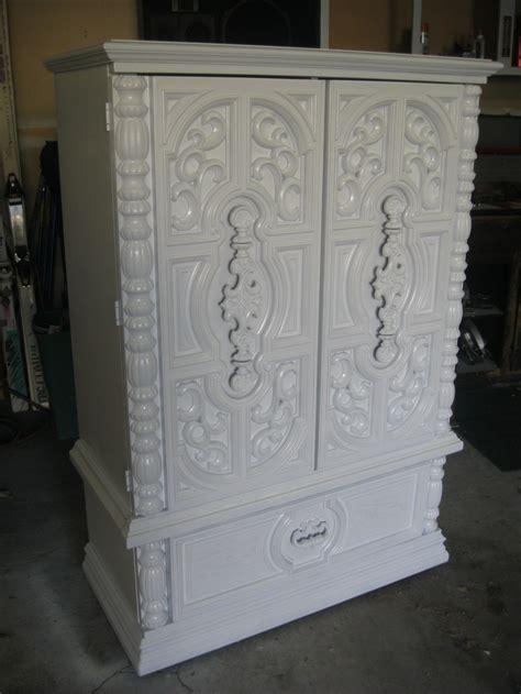 refinished armoire refinished armoire furniture i love pinterest