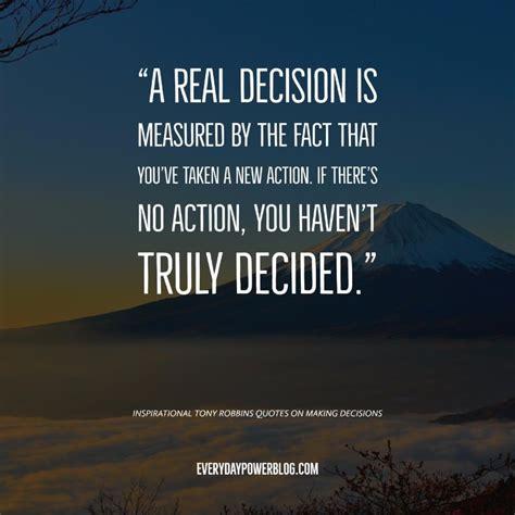 decision quotes 10 tony robbins quotes about success motivation