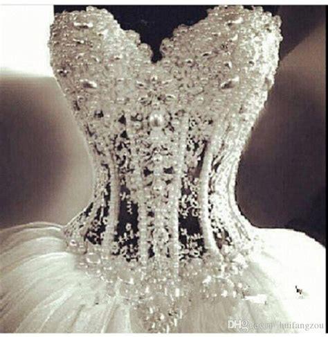 2015 bling bling backless white ball gown wedding dresses