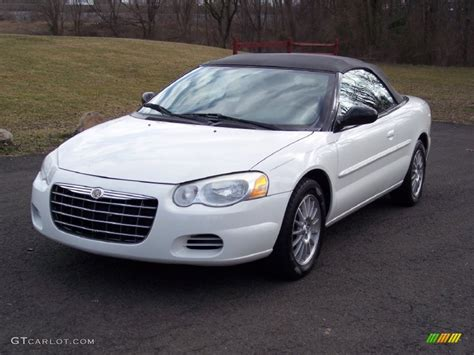 2004 chrysler convertible white 2004 chrysler sebring lx convertible exterior