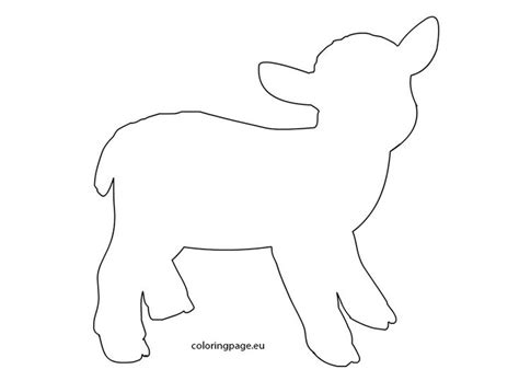 sheep craft template 861 best templates silhouettes images on