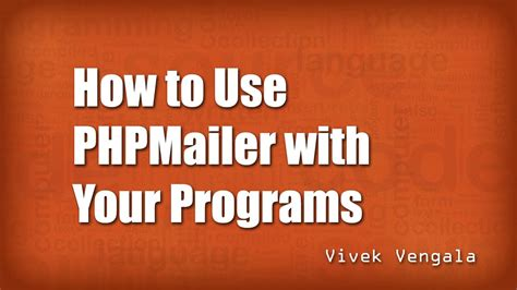 phpmailer tutorial how to use phpmailer in simple way youtube