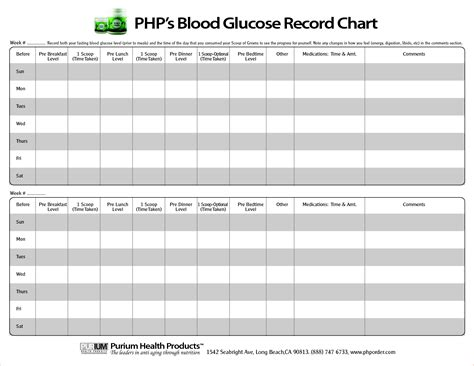 blood sugar chart template vacation calendar schedule template calendar template 2016