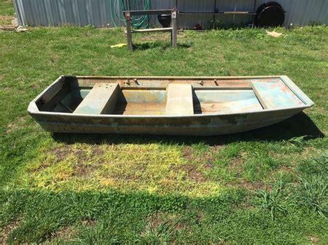 10ft jon boat 1970 sears 10ft jon boat great shape with trailer for sale