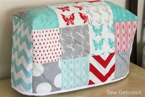how to do a sew in to cover shaved sides quilted sewing machine cover tutorial sew delicious