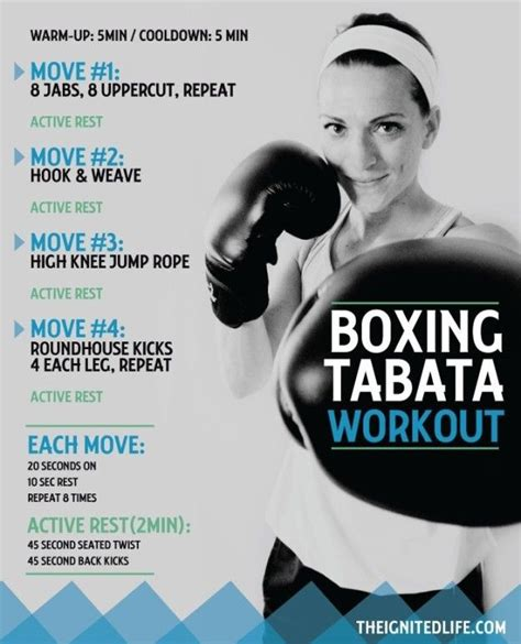 boxing tabata lifestlye change