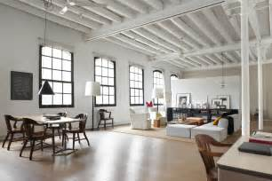 modern lofts modern industrial white loft in barcelona