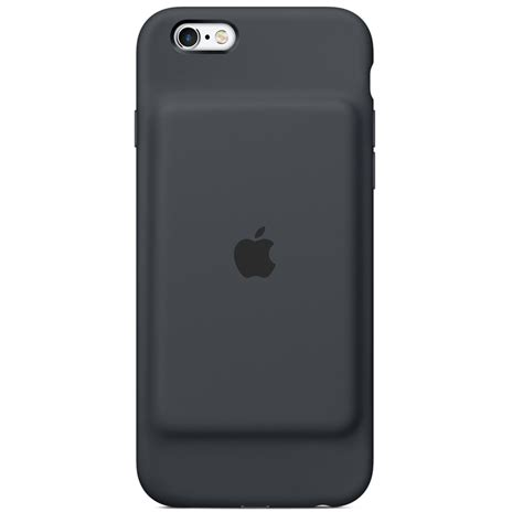 apple smart battery case charcoal grey iphone  cases protectors mobile phones