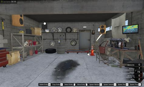 New Garage Franklin New Garage Gta5 Mods