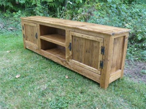 How To Build A Room Addition Yourself diy pallet tv stand media cabinet console table 101
