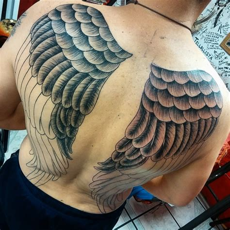 65 Best Angel Wings Tattoos Designs Meanings Top Wing Tattoos Images