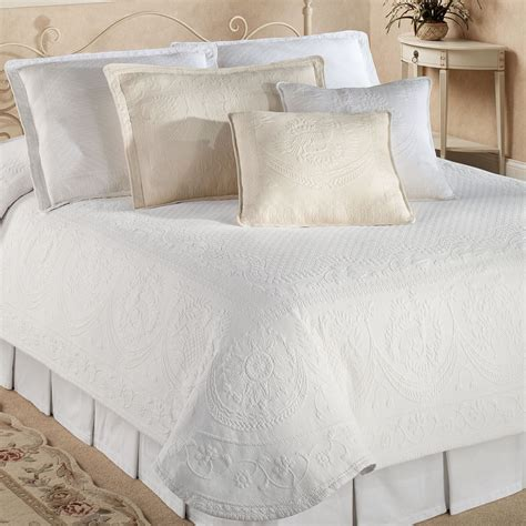 Bedspread Coverlet king charles matelasse coverlet bedding