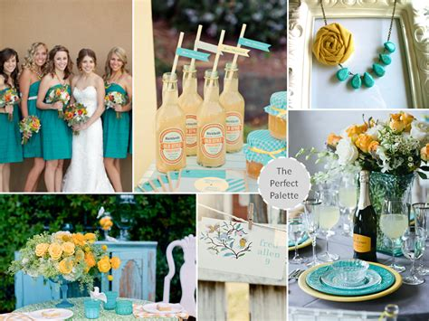 teal wedding colors wedding colors color shades teal and weddings